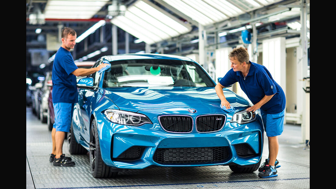 Produktion Fertigung BMW