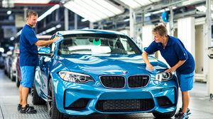 Produktion Fertigung BMW