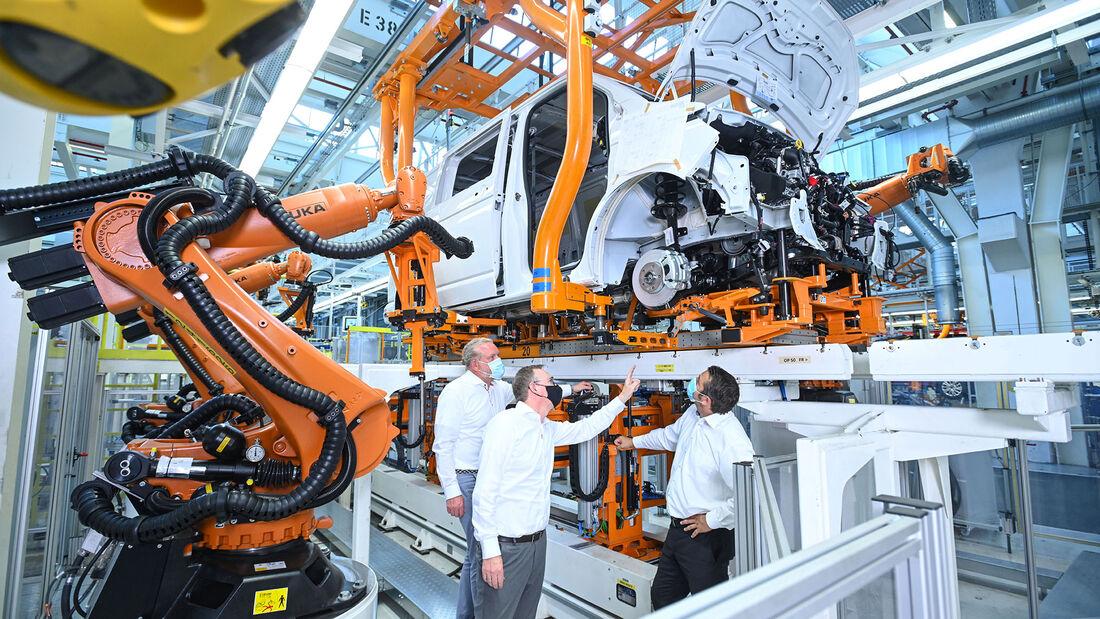 Produktion VW Nutzfahrzeuge Hannover