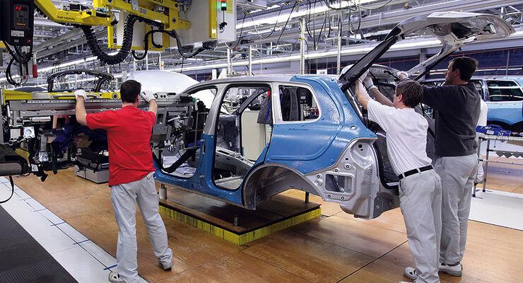 Produktion VW Touareg