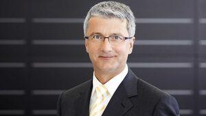 Prof. Rupert Stadler, Vorstandsvorsitzender der Audi AG