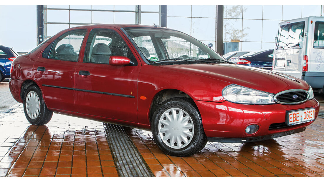 Profi-Check, Ford Mondeo, Seitenansicht