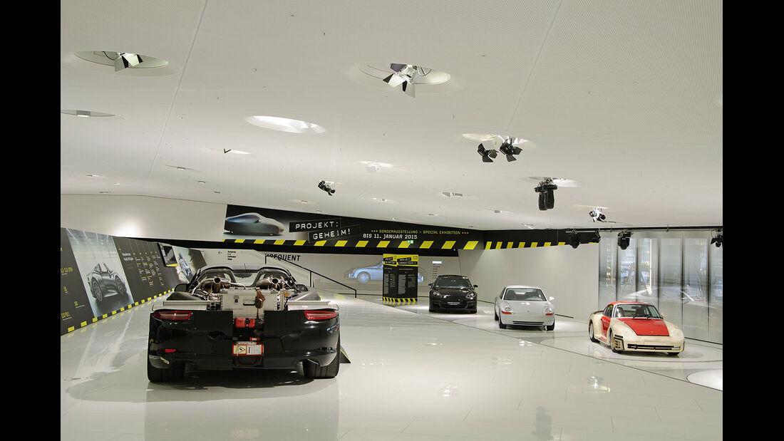 Projekt Geheim, Porsche Museum