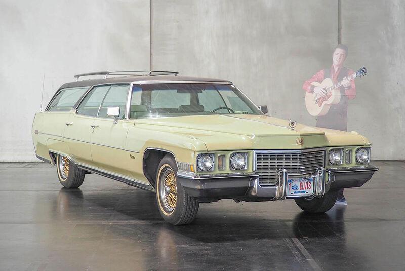 Promi-Autos 2018 Cadillac De Ville Estate Wagon (1972) Elvis Presley
