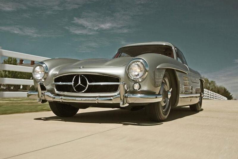 Promi-Autos 2018 Mercedes 300 SL (1955) Clark Gable