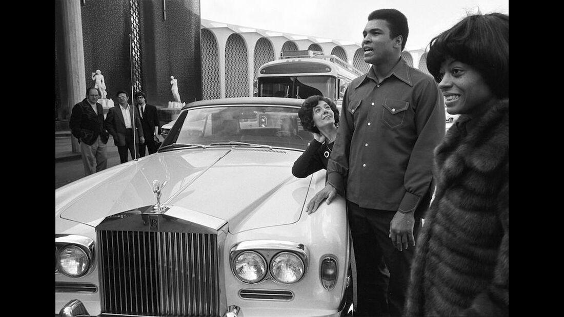 Promi-Autos 2018 Rolls-Royce Silver Shadow Drophead Coupe Muhammed Ali