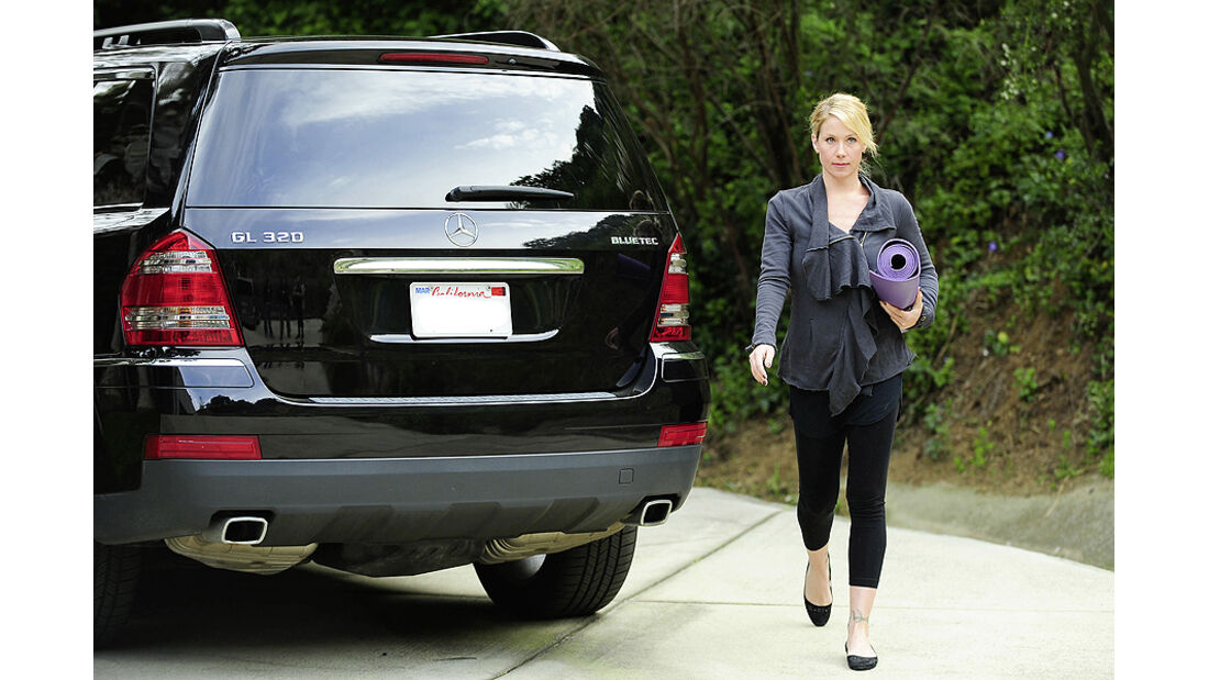 Promi-Autos, Mercedes, Christina Applegate