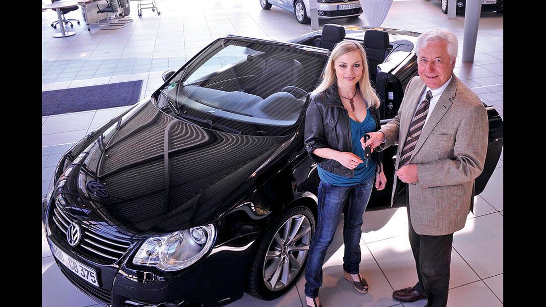 Promi-Autos, Regina Halmich, VW