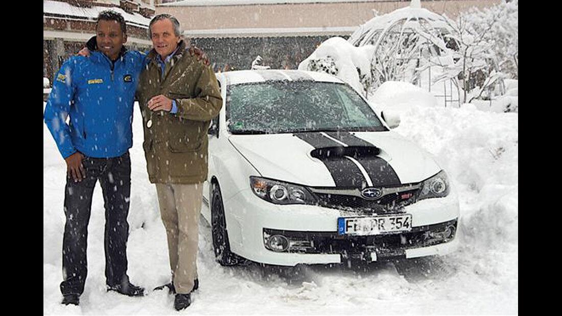 Promi-Autos, Subaru, Haddaway
