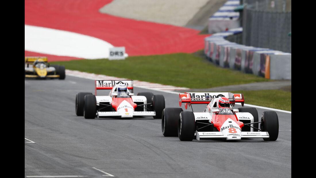 Prost & Lauda - Legends Parade - GP Österreich 2015