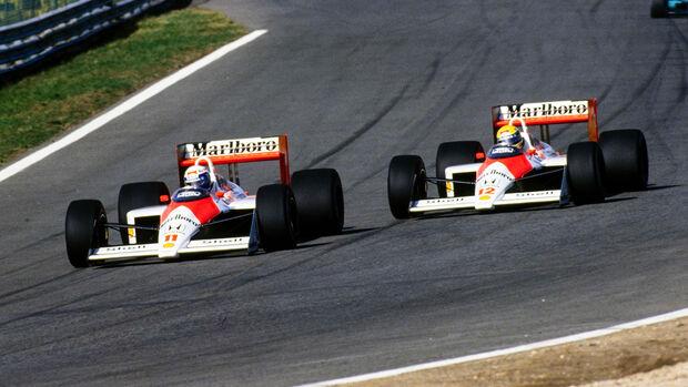 Prost vs. Senna - McLaren - F1 - 1988
