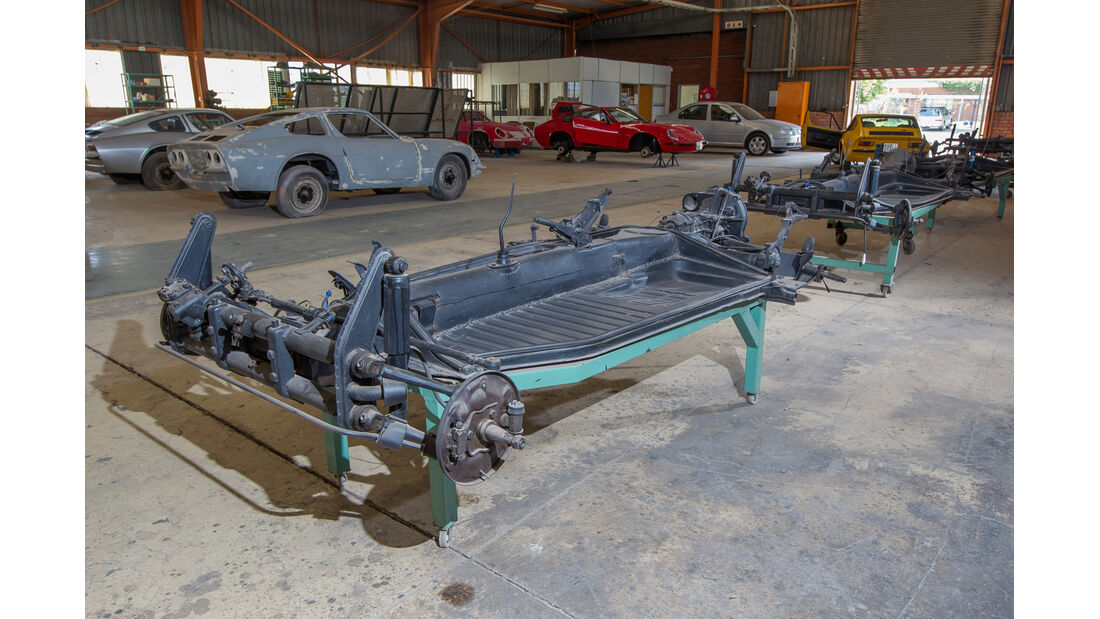 Puma, Südafrika, Werkshalle, Produktion