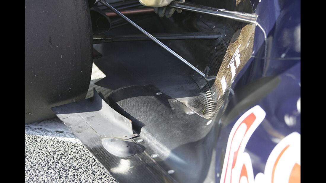 Pyrosic Auspuff Formel 1