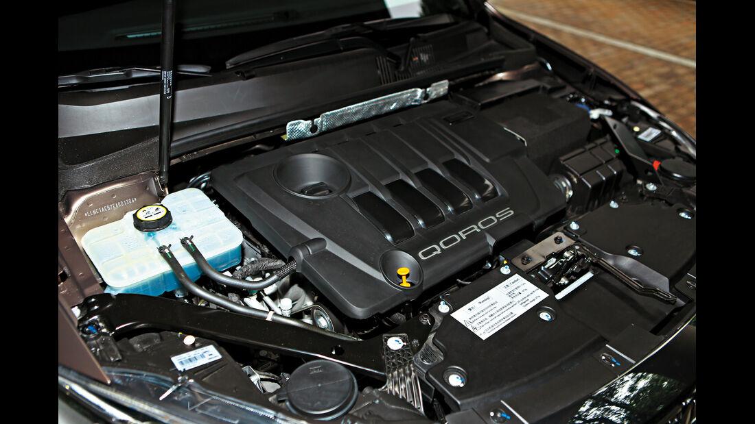 Qoros 3 Sedan 1.6T, Motor