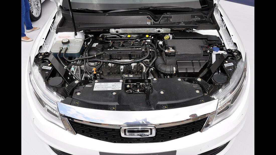 Qoros 3 Sedan, Motor