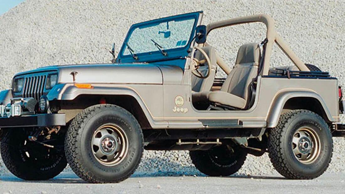 Quadratec 30th Anniversary Jeep Wrangler YJL Sahara
