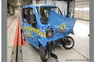 Quadricycles & Microcars im EuroNCAP Crashtest