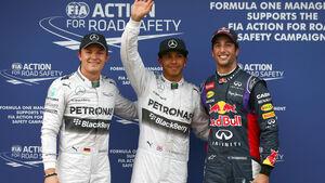 Quali-Top 3 - GP Australien 2014