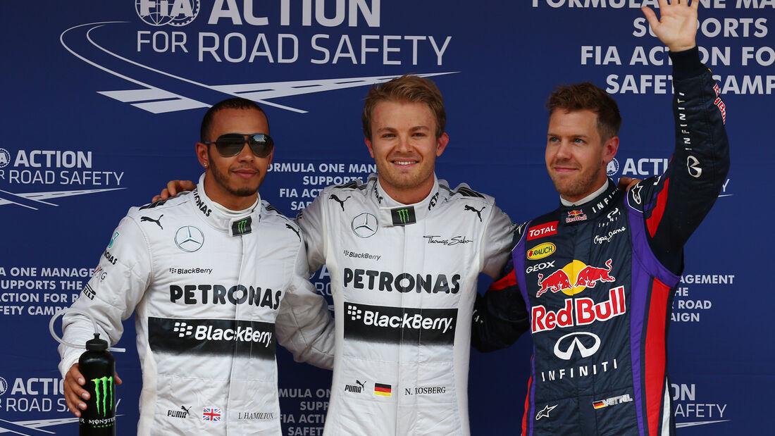Quali Top 3 GP Spanien 2013