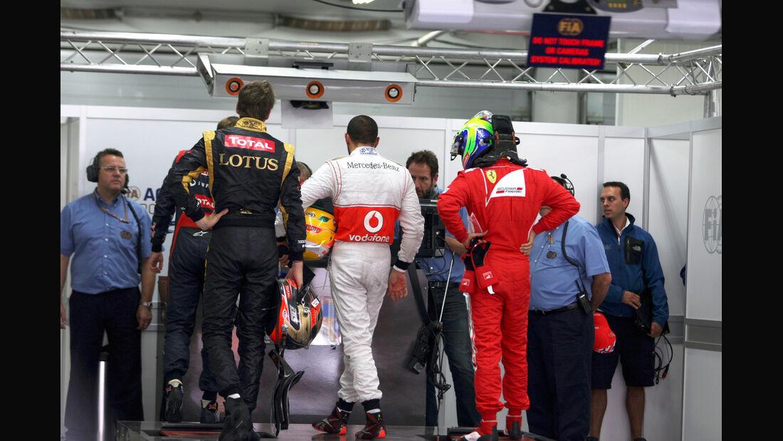 Qualifying - Formel 1 - GP Korea - 13. Oktober 2012