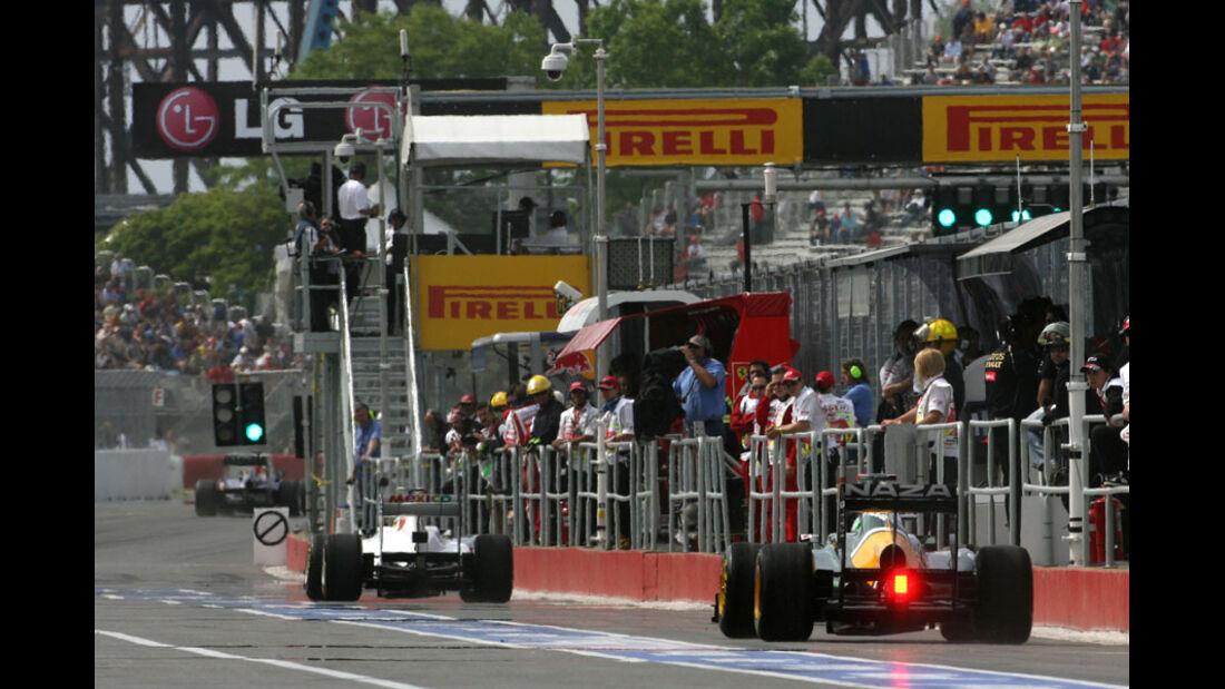 Qualifying GP Kanada 2011
