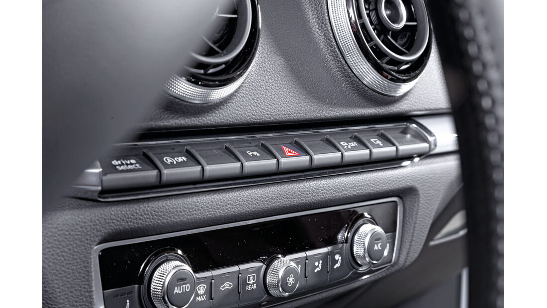 Qualität, Audi A3, Tastenleiste