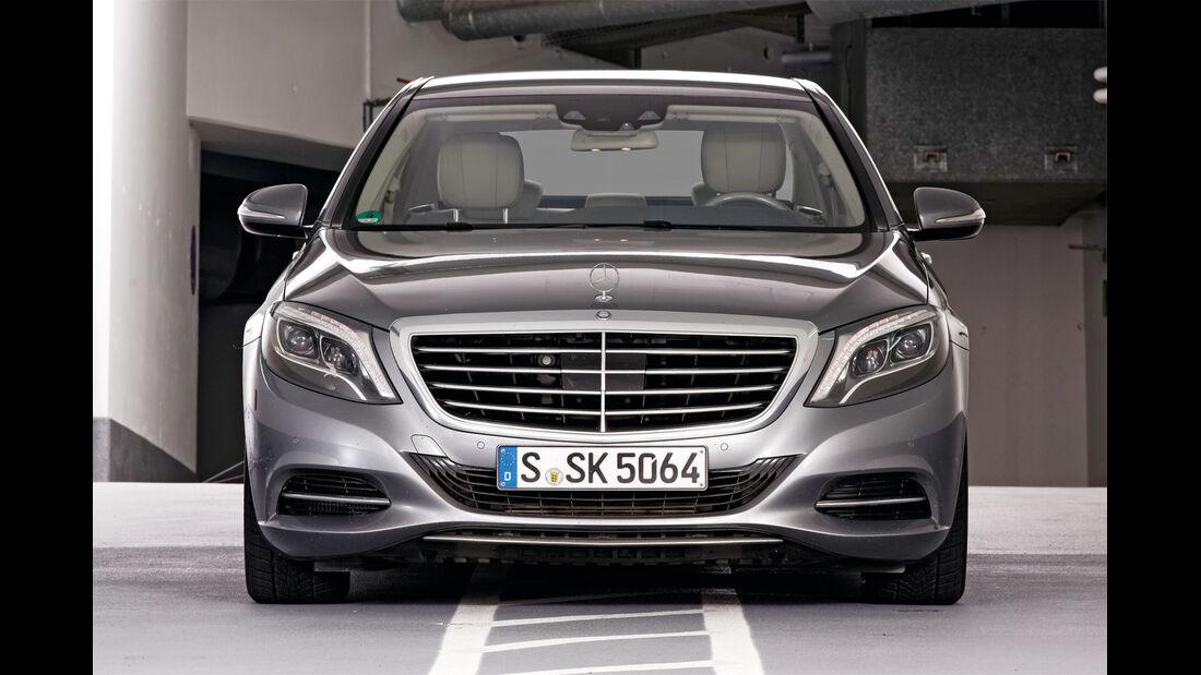 Qualität, Mercedes S-Klasse, Frontansicht