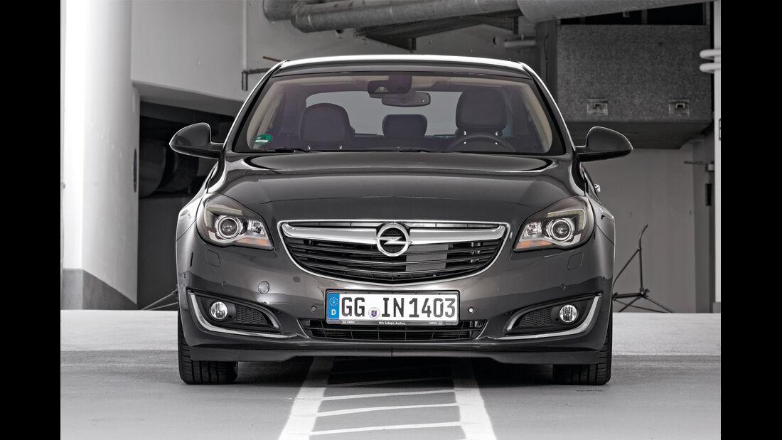 Qualität, Opel Insignia, Frontansicht