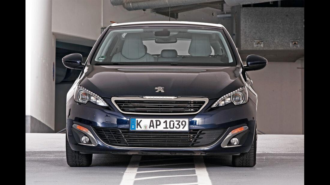 Qualität, Peugeot 308, Frontansicht