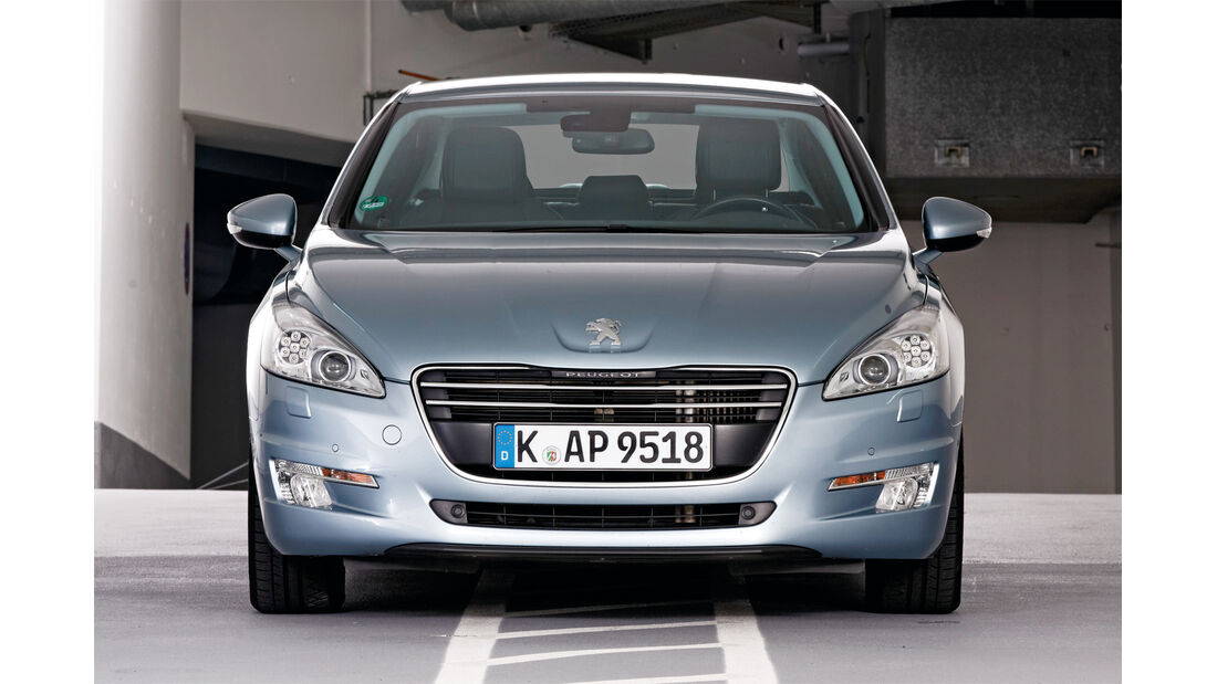 Qualität, Peugeot 508, Frontansicht