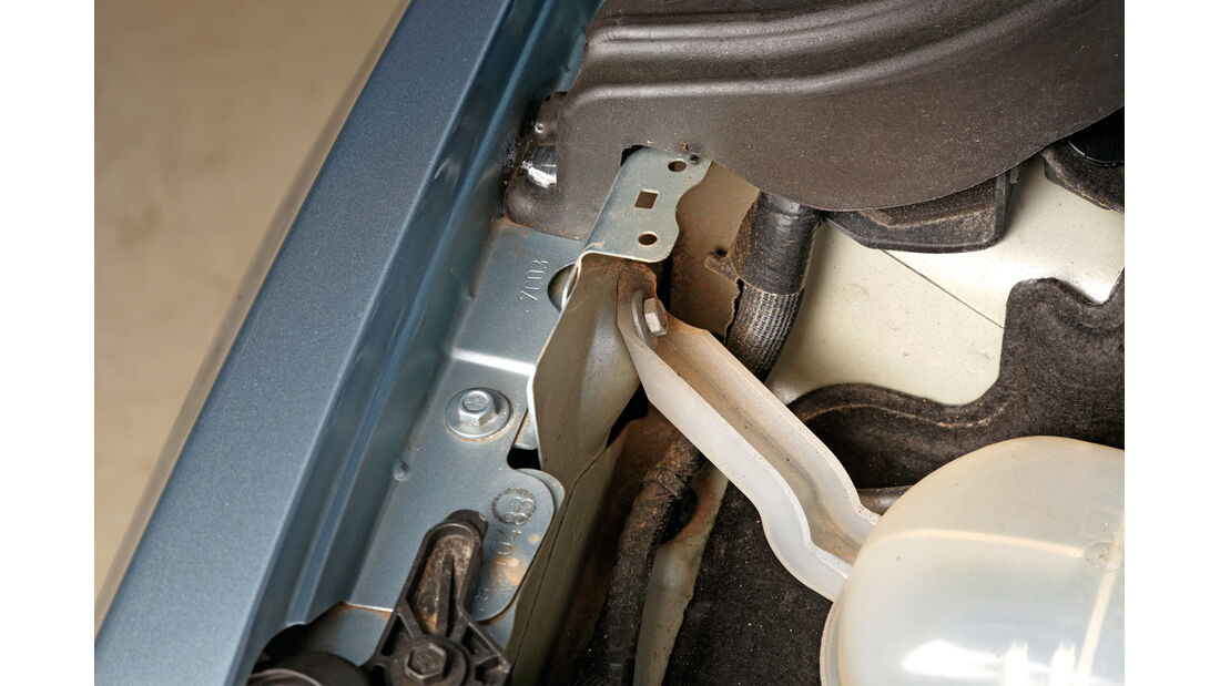 Qualität, Peugeot 508, Motorraum