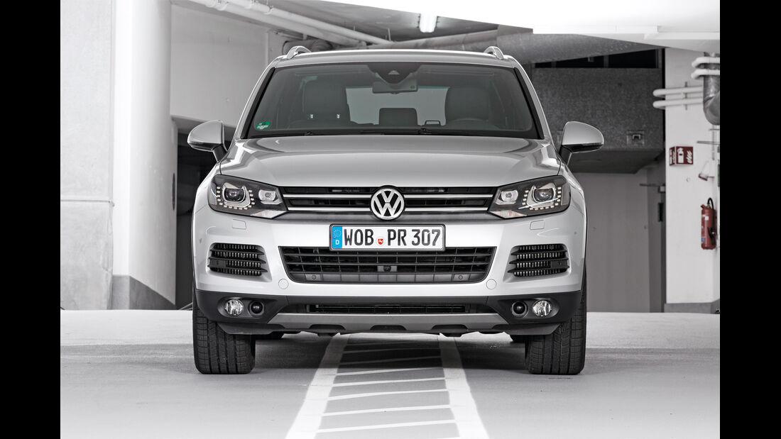 Qualität, VW Touareg, Frontansicht
