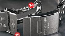 Qualitätsmerkmale, Uhr, Verschluss, Armband