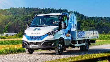 Quantron Q-Light Brennstoffzellen Transporter