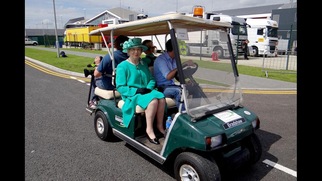 Queen-Double - Formel 1 - GP England - Silverstone - 5. Juli 2012