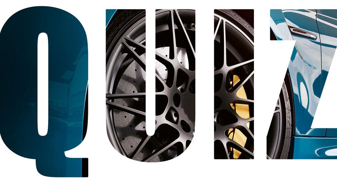 Quiz Sportwagen Felgen Design