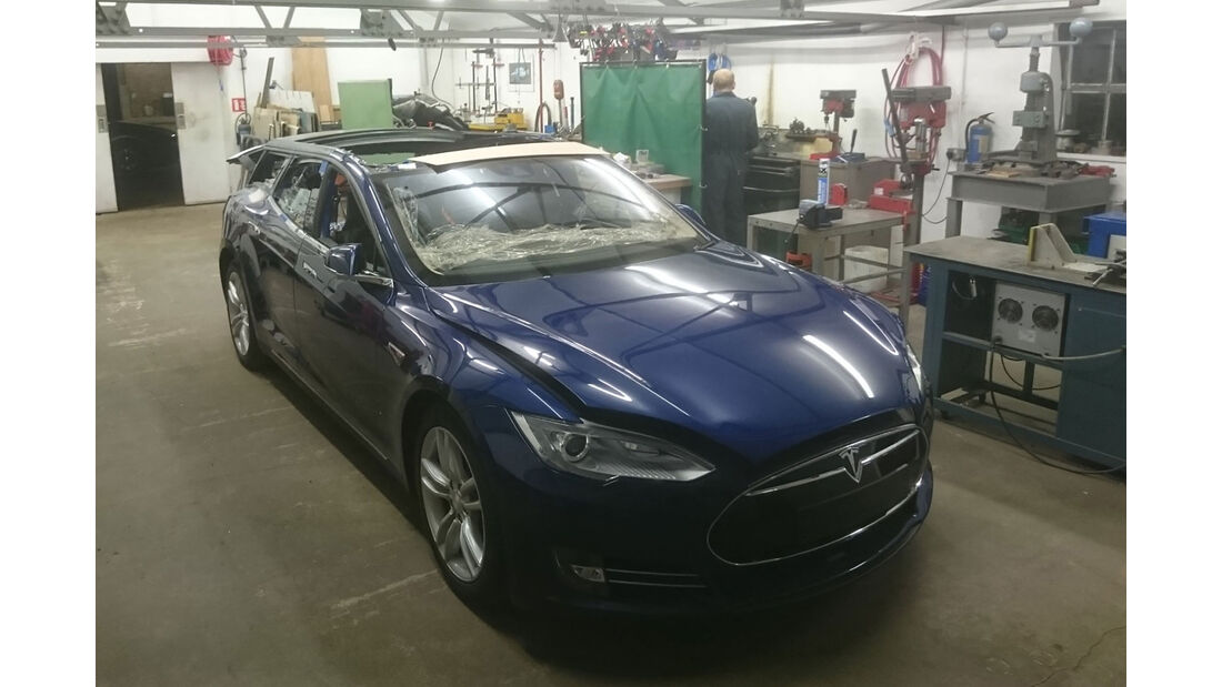 Qwest Tesla Model S Shooting Brake