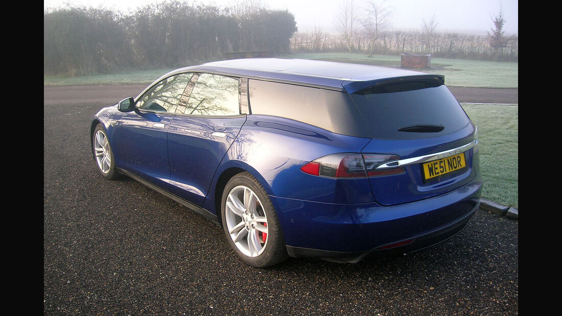 Qwest Tesla Model S Shooting Brake