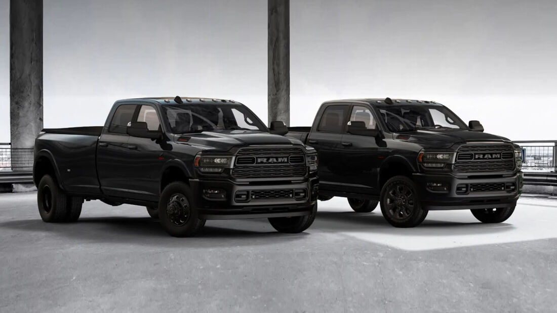 RAM 3500 Limited Black Edition