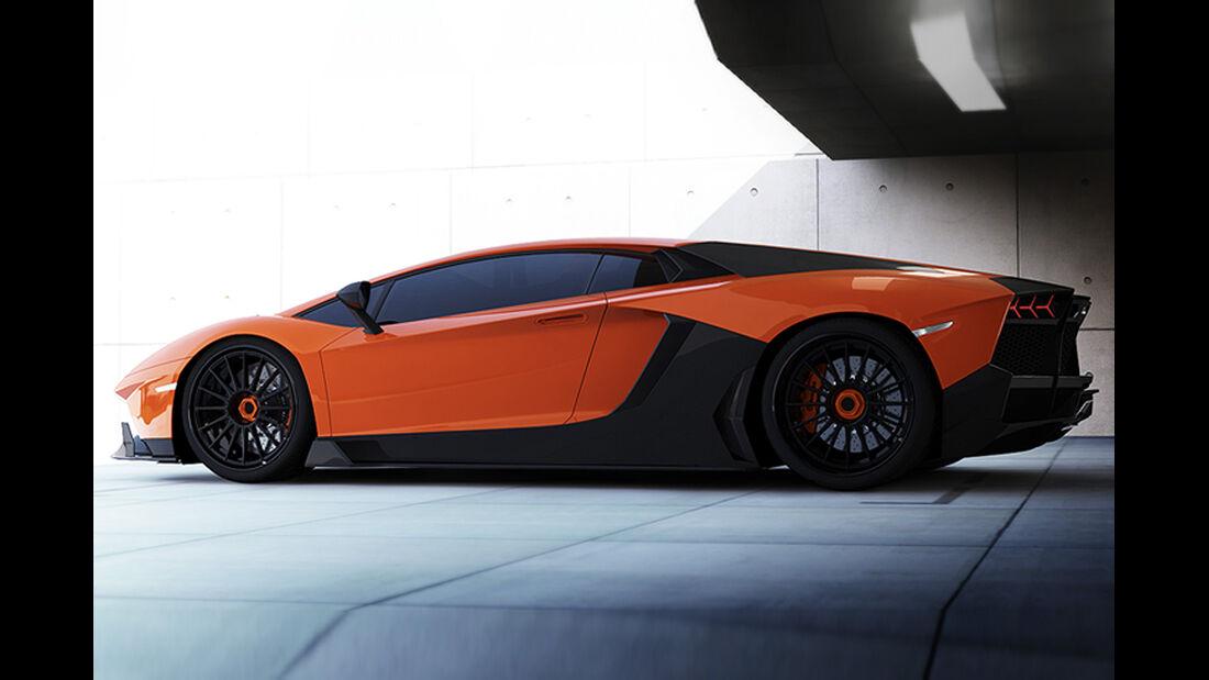 RENM Aventador LE-C, Lamborghini Aventador, Tuning