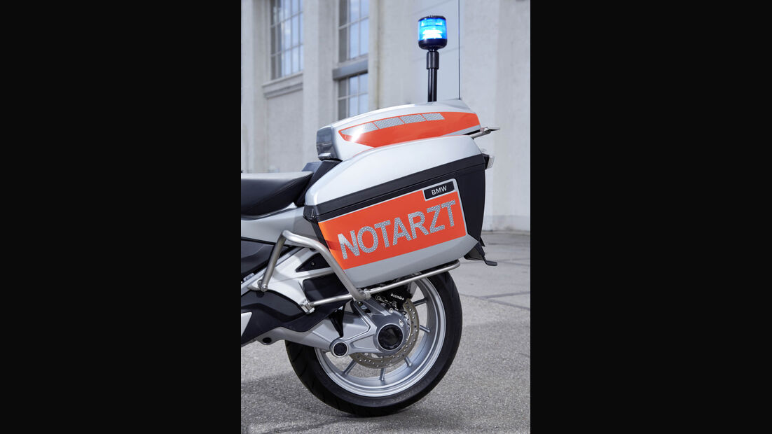 RETTMobil 2016, Einsatzfahrzeuge, Notarzt, Rettungsdienst, BMW R 1200 RT, Motorrad