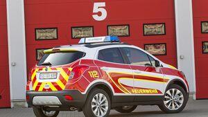 RETTMobil 2016, Einsatzfahrzeuge, Notarzt, Rettungsdienst, Opel Mokka
