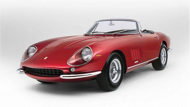 RM Auctions Sotheby's Monaco Sale 2016, Auktion, Versteigerung, Ferrari 275 GTS/4 NART Spider