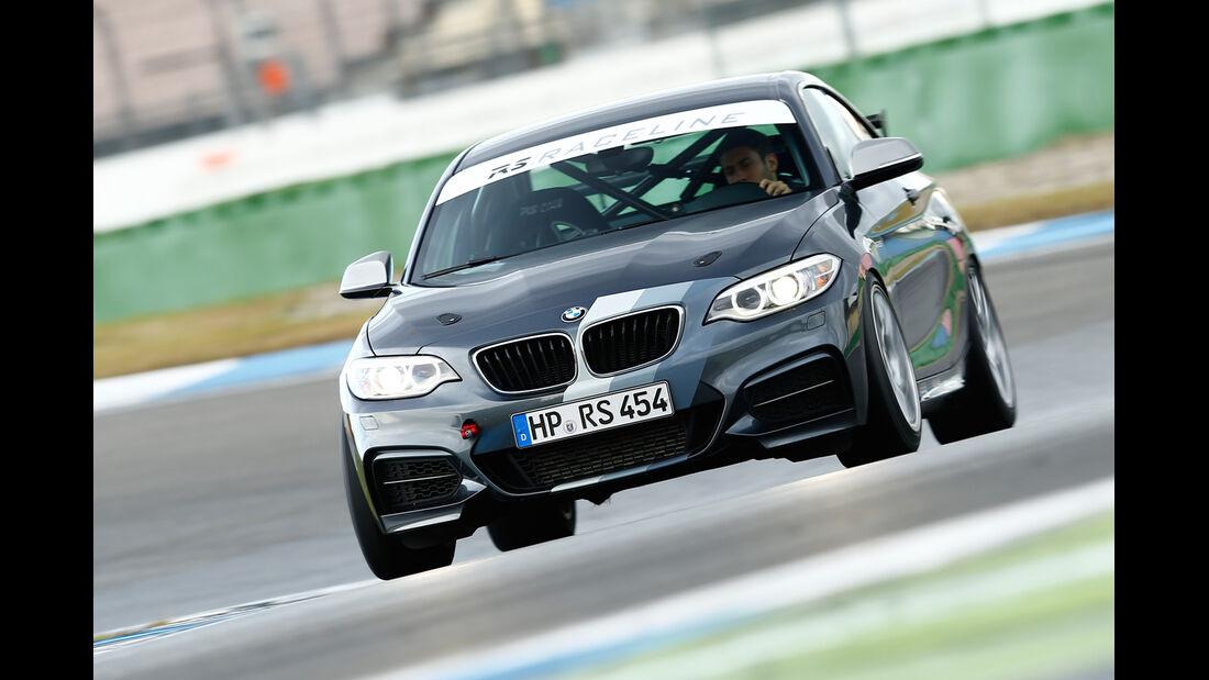RS-Raceline-BMW M235i, Frontansicht