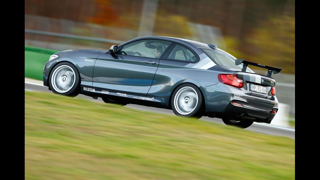 RS-Raceline-BMW M235i, Heckansicht