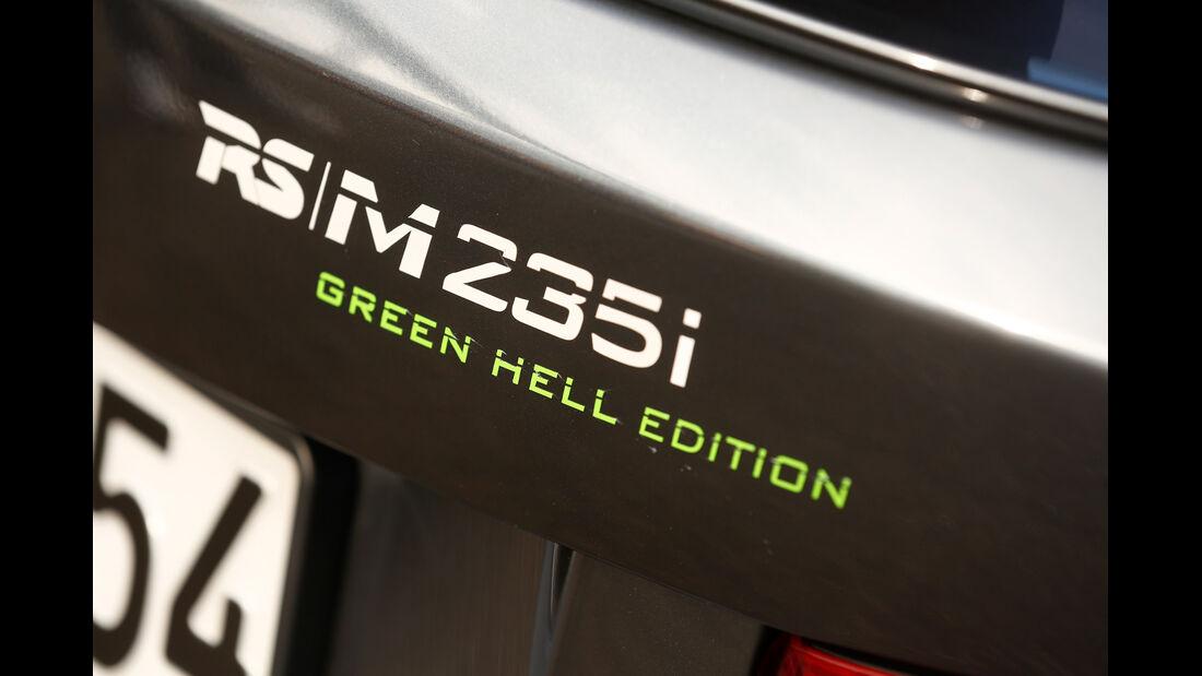 RS-Raceline-BMW M235i, Typenbezeichnung