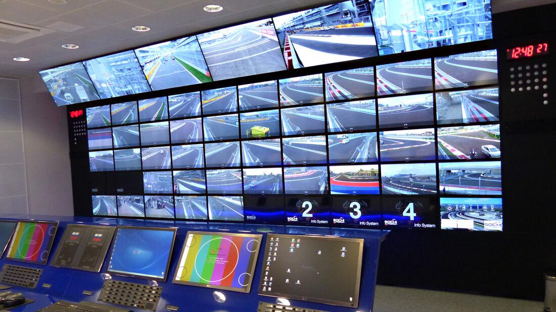Race Control - Formel 1 - GP Russland - Sochi - 8. Oktober 2014