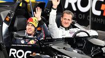 Race of Champions 2010 Michael Schumacher, Sebastian Vettel
