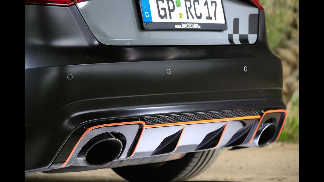 RaceChip-Audi RS3 Sportback, Endrohre, Auspuff