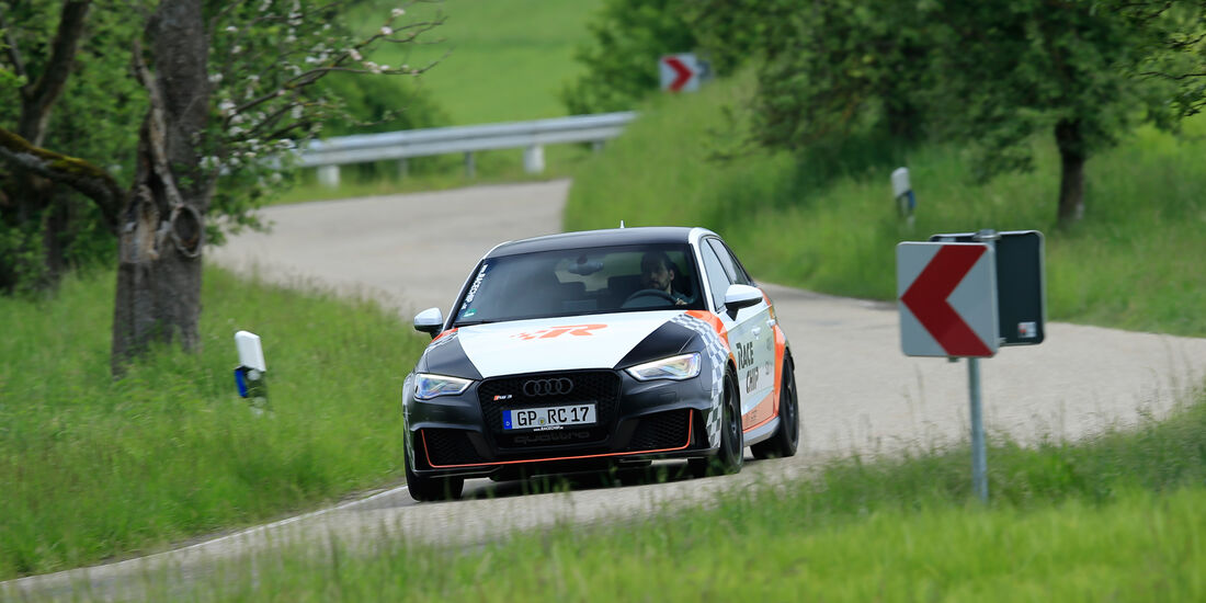 RaceChip-Audi RS3 Sportback, Frontansicht